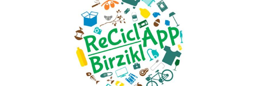 Una app ayudará a los navarros a reciclar