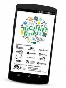 La aplicación móvil pretende facilitar al ciudadano el reciclaje de residuos
