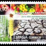 Un sello para conmemorar el Año Internacional de los Suelos