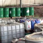 Cinco detenidos por enterrar mil toneladas de residuos industriales sin tratar
