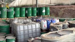 La Guardia Civil detiene a cinco personas por enterrar residuos industriales sin tratar