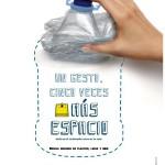 Lanzarote anima a comprimir los envases antes de reciclarlos