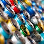 En 2014 se reciclaron el 46,6% de los envases de aluminio