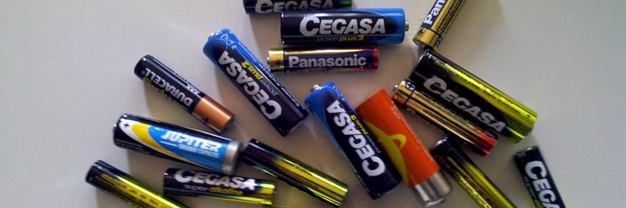 Menos sustancias peligrosas en pilas y baterías