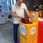 Las tiendas de electrodomésticos andaluzas facilitan el reciclaje a los consumidores