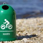 El reciclaje de vidrio llega a la Vuelta