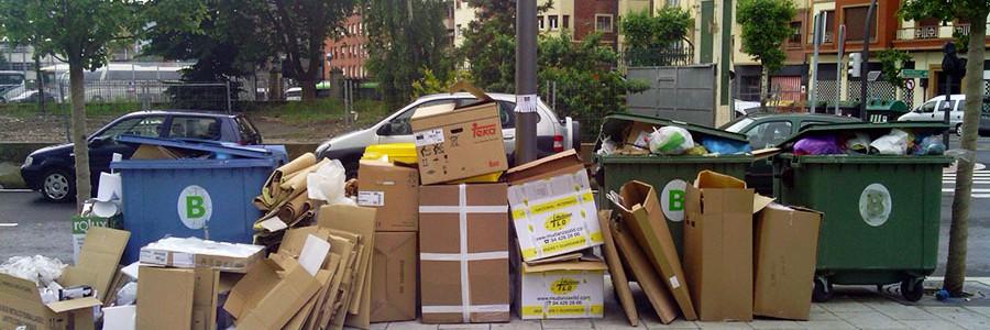 Cada año se producen entre 7.000 y 10.000 millones de toneladas de residuos en el mundo