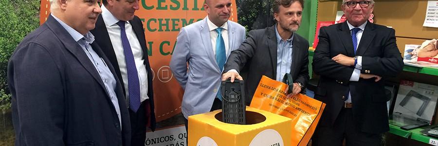 Nueva campaña de concienciación sobre reciclaje de residuos electrónicos en Andalucía