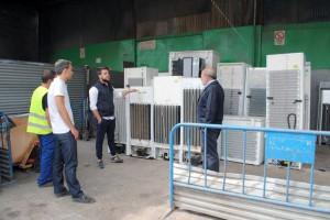 La empresa ha incorporado las nuevas tecnologías a la gestión de residuos electrónicos