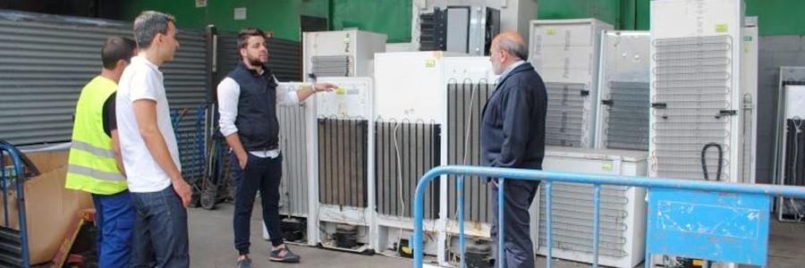 Una empresa de Calatayud, pionera en el uso de nuevas tecnologías en gestión de RAEE