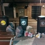 Galdakao (Bizkaia) contempla sancionar a quienes dejen basura en la vía pública