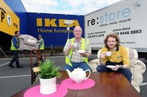 FRN colabora en Reino Unido con los distribuidores para mejorar la reutilización de muebles y enseres