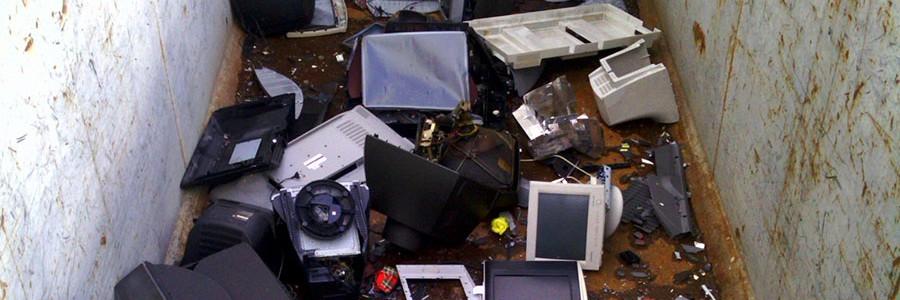 Europa solo recicla un tercio de la basura electrónica que genera