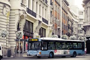 Los autobuses de la EMT de Madrid medirán la calidad del aire