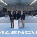 Ecovidrio y Valencia Open presentan el nuevo trofeo elaborado con vidrio reciclado