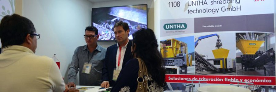 UNTHA lleva a The Green Expo sus soluciones de reciclaje
