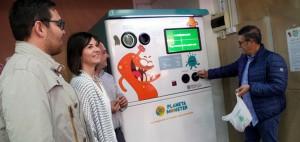 La máquina compensará a los vila-realenses que reciclen