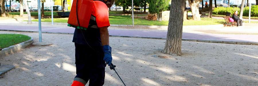 Castellón sustituye los herbicidas químicos por vinagre