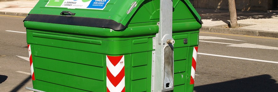 ¿Qué hay en un contenedor de basura?