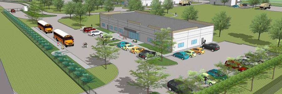 FCC inaugura una planta de reciclaje de materiales en Dallas, EEUU