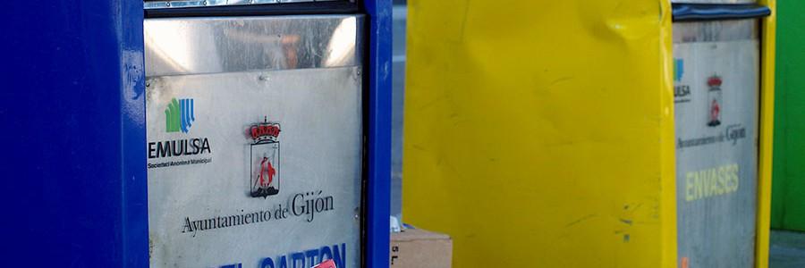 Una empresa de economía social recogerá el cartón comercial en Gijón