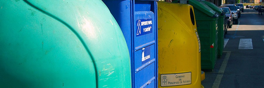 El reciclaje en Asturias crece un 5%