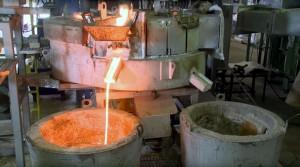 El horno se instalará a escala industrial en una acería