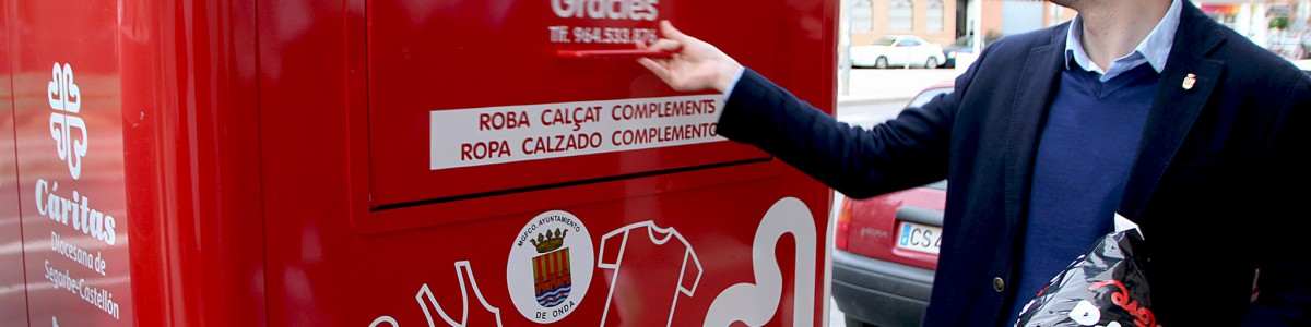 Onda (Castellón) renueva los contenedores de recogida textil