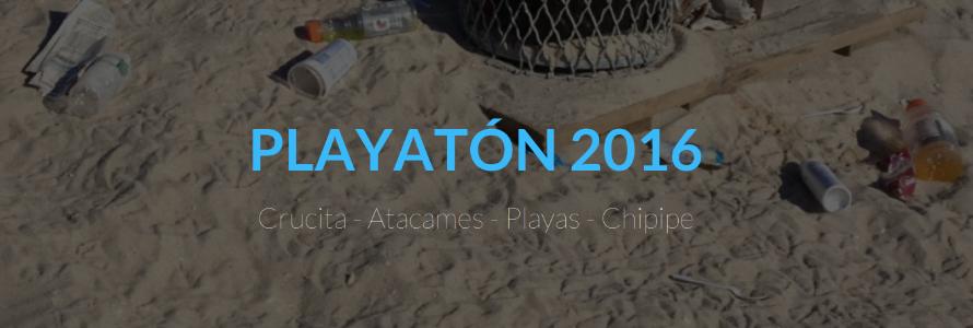 16.000 voluntarios limpiaron las playas de Ecuador en el primer 'Playatón' de 2016