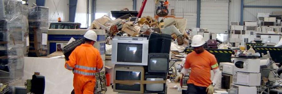 El 5% de las 8.500 toneladas de residuos electrónicos que recoge AERESS se reutilizan