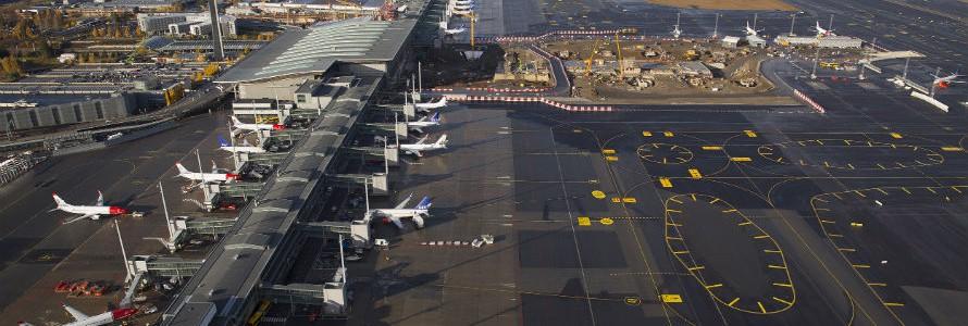 Instalación de biocombustible en el aeropuerto Gardermoen de Oslo