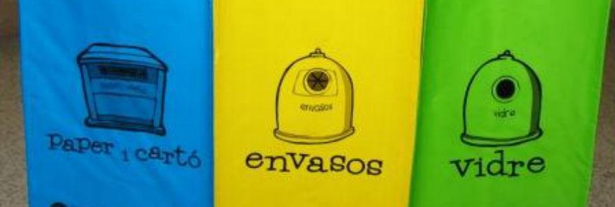 El Consell d'Eivissa repartirá casi 100.000 bolsas para separación de residuos