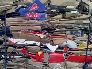 El volumen de papel y cartón recuperado superó los 4,5 millones de toneladas en 2015