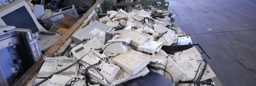 Recyclia recoge más de 1.870 toneladas de residuos de equipos electrónicos durante Navidad y Rebajas