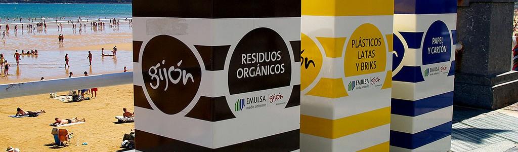 Gijón es la ciudad española con el menor coste de limpieza urbana y gestión de residuos