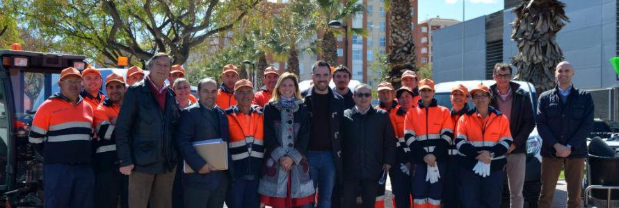 Castellón recoge 1.800 toneladas de residuos durante las Fiestas de la Magdalena