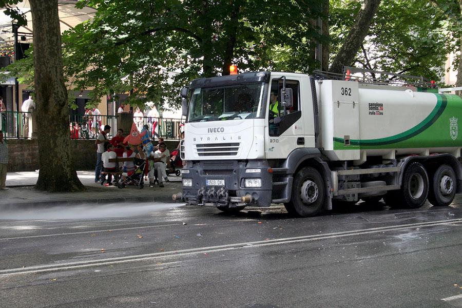 Pamplona prepara su nuevo contrato de limpieza urbana for Empresas de limpieza en pamplona