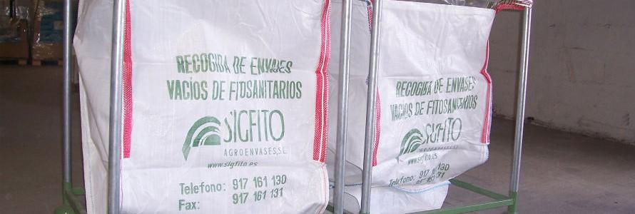 Murcia encabeza la recogida de envases de productos fitosanitarios