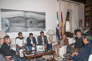 Extremadura muestra su modelo mancomunado de gestión de residuos a una delegación de El Salvador
