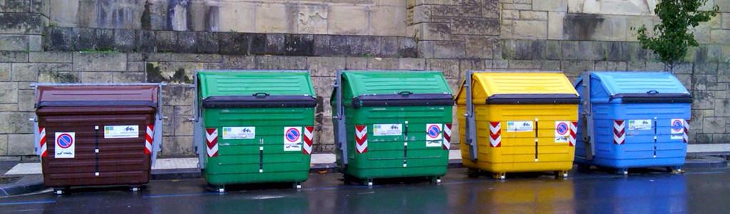 Un dispositivo para saber lo que ocurre dentro del contenedor de basura