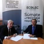 Acuerdo para la recogida de residuos electrónicos en los comercios de electrodomésticos