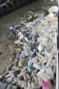 Ecologistas recogieron 300 kg de envases en apenas hora y media en el río Segura