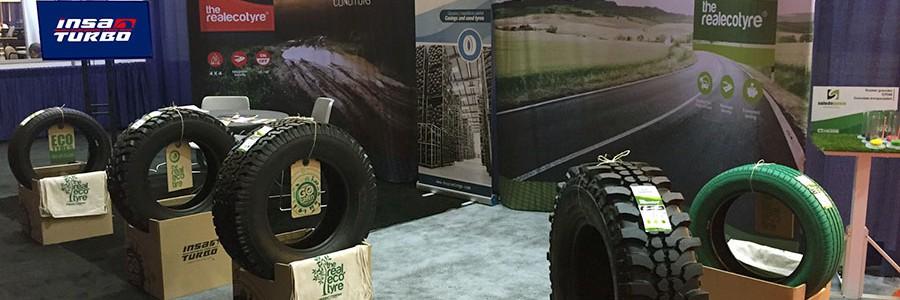 Neumáticos reciclados con sello español triunfan en EE.UU.