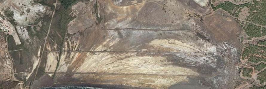 Losresiduos de una mina abandonada en Murcia son peligrosos para la salud