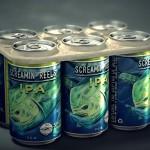 Crean unas anillas biodegradables y comestibles para unir latas de bebidas