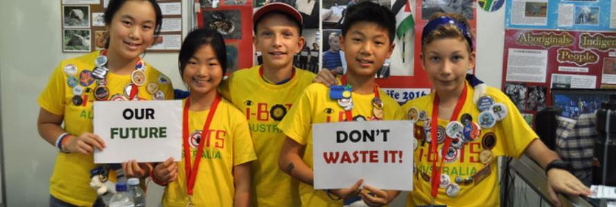 Robots y reciclaje en la competición internacional de LEGO en Tenerife