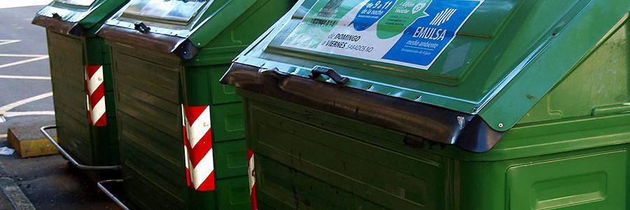 Gijón renovará su parque de contenedores de residuos urbanos