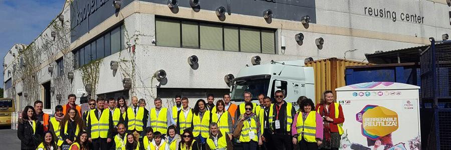 Un centenar de expertos europeos en sostenibildad conoce el modelo de gestión de residuos de Bizkaia