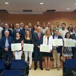 Distinguidas 21 empresas e instituciones de la Región de Murcia por su compromiso ambiental