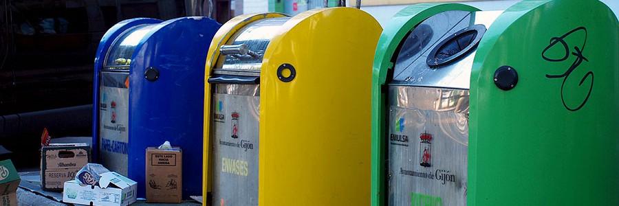 Dos barrios de Gijón compiten por ser el que más recicla